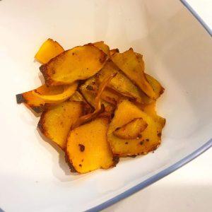 バターナッツかぼちゃの皮